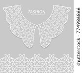 vector fashion background....   Shutterstock .eps vector #774986866
