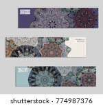 ethnic banners template with...   Shutterstock .eps vector #774987376