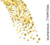 vector confetti background...   Shutterstock .eps vector #774997066