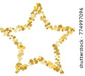 vector confetti background...   Shutterstock .eps vector #774997096