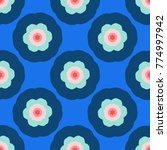 seamless pattern with bright...   Shutterstock .eps vector #774997942