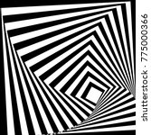 abstract black and white... | Shutterstock .eps vector #775000366