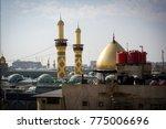 shrine of imam hussain ibn ali... | Shutterstock . vector #775006696