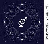 vector illustration of zodiac...   Shutterstock .eps vector #775026748