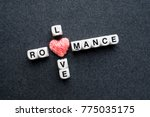 Love Romance Crossword Block...