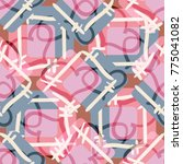 new colorful seamless pattern... | Shutterstock .eps vector #775041082