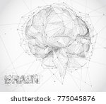 three dimensional vector cyber...   Shutterstock .eps vector #775045876