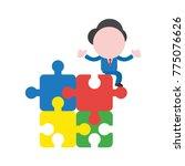 vector cartoon illustration...   Shutterstock .eps vector #775076626
