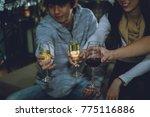 group of friends to enjoy... | Shutterstock . vector #775116886