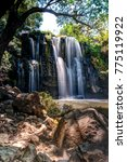 central america waterfall vista ... | Shutterstock . vector #775119922