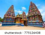 pathirakali amman temple ...   Shutterstock . vector #775126438