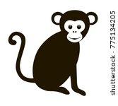 monkey vector logo   Shutterstock .eps vector #775134205