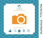 camera symbol icon | Shutterstock .eps vector #775146766