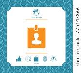 badge symbol icon | Shutterstock .eps vector #775147366