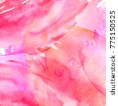 Watercolor Pink Background....
