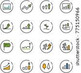 line vector icon set  ... | Shutterstock .eps vector #775150966