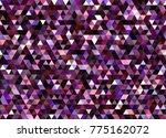 purple sparkling glitter... | Shutterstock .eps vector #775162072