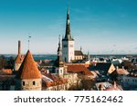 tallinn  estonia. part of... | Shutterstock . vector #775162462
