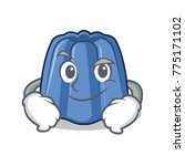 smirking jelly character... | Shutterstock .eps vector #775171102