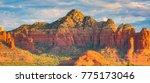sedona  arizona with its large... | Shutterstock . vector #775173046