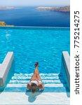 woman enjoying relaxation in... | Shutterstock . vector #775214275