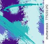 splash brush strokes seamless... | Shutterstock .eps vector #775231192