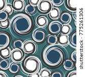 a seamless pattern consisting... | Shutterstock .eps vector #775261306