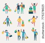 vector illustration in a flat...   Shutterstock .eps vector #775278025