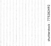 abstract grunge grid polka dot... | Shutterstock .eps vector #775282492
