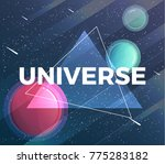 space banner with planets... | Shutterstock .eps vector #775283182