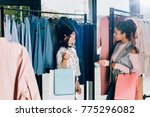 young stylish women with