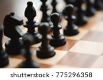 game of chess | Shutterstock . vector #775296358