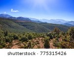 the atlas mountain range at... | Shutterstock . vector #775315426