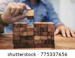 alternative risk concept  plan...   Shutterstock . vector #775337656