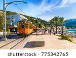 port de soller  mallorca  spain ... | Shutterstock . vector #775342765