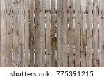 Grey Wooden Fence Old Wooden...