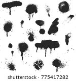 abstract vector background dot... | Shutterstock .eps vector #775417282