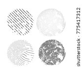 abstract vector background dot... | Shutterstock .eps vector #775417312