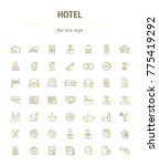graphic illustration. set icons ... | Shutterstock . vector #775419292