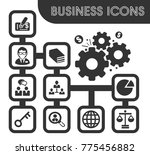 business icons set and symbols... | Shutterstock .eps vector #775456882