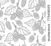 vector seamless pattern with... | Shutterstock .eps vector #775458355