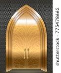 golden door luxurious palace in ... | Shutterstock .eps vector #775478662