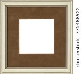 picture frame isolated on white ... | Shutterstock . vector #775488922