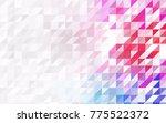 dark multicolor vector of small ... | Shutterstock .eps vector #775522372
