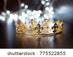 royal crown  diadem. wealth... | Shutterstock . vector #775522855