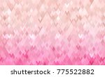 light pink vector background of ... | Shutterstock .eps vector #775522882