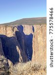 black canyon of the gunnison... | Shutterstock . vector #775578466