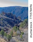 black canyon of the gunnison... | Shutterstock . vector #775578496