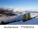 view of alps at mayrhofen ski... | Shutterstock . vector #775581016