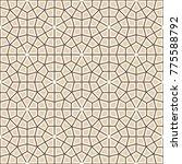 seamless islamic background.... | Shutterstock .eps vector #775588792